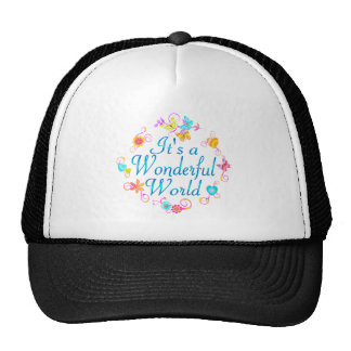 Wonderful World Trucker Hat