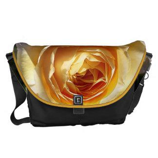 Wonderful Yellow Roses Large Messenger Bag