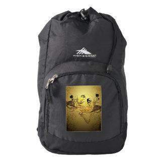 Wonderfull skull backpack