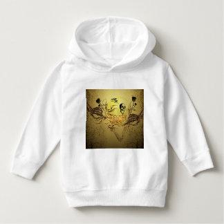 Wonderfull skull hoodie
