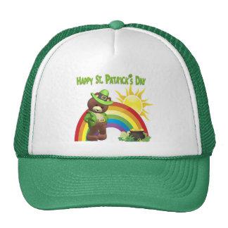 Wonderfully Cute, Very Shy Irish Bear Design #1 Trucker Hat