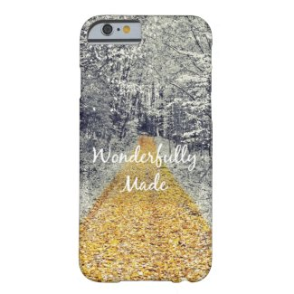 Wonderfully Made Bible Verse Barely There iPhone 6 Case
