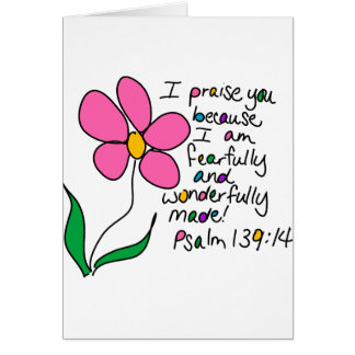 Wonderfully Made Card