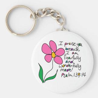 Wonderfully Made Key Chain