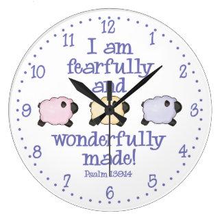 Wonderfully Made Large Clock