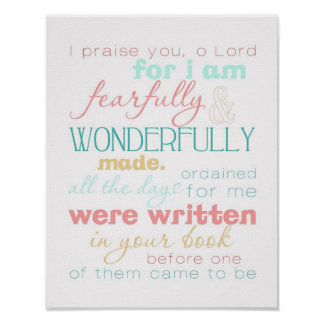 wonderfully made poster print