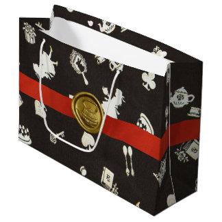 Wonderland 1 large gift bag