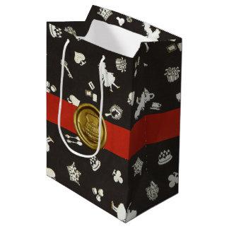 Wonderland 1 medium gift bag