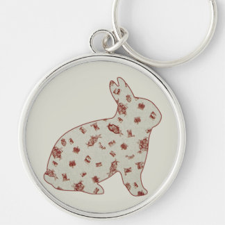 Wonderland 2 Rabbit Keychain