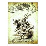 WoNDeRLaND 5x7 Paper Invitation Card