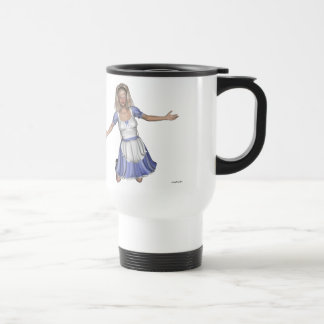 Wonderland Alice 15 Oz Stainless Steel Travel Mug