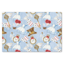 Wonderland Alice Pattern Tissue Paper