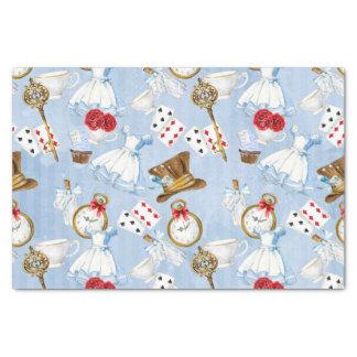 Wonderland Alice Pattern Tissue Paper