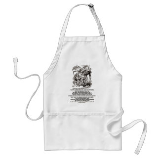 Wonderland Be What You Would Seem To Be Duchess Adult Apron