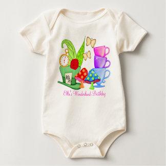 Wonderland Birthday Onsie Bodysuit