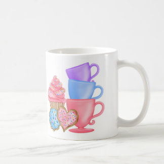Wonderland  Birthday Tea Party Mugs