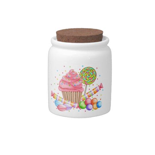 Wonderland Candy Jar