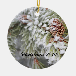 wonderland, Christmas 2010 Ceramic Ornament