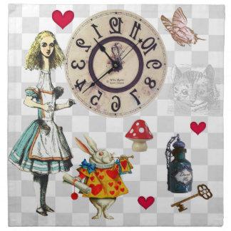 Wonderland Collage Napkin