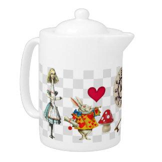 Wonderland Collage Teapot