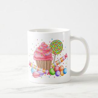 Wonderland Cupcake Candy Lollipop Sweet Tarts Mugs