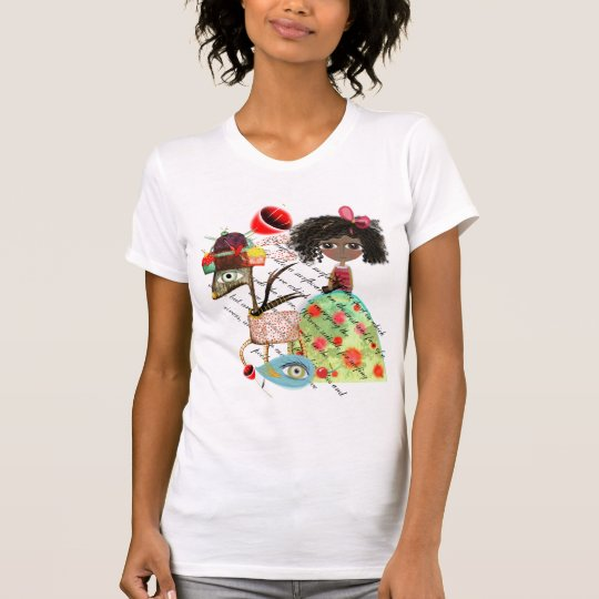 Wonderland deer bear awesome summer fashion T-Shirt