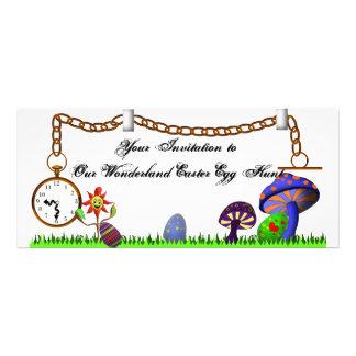 Wonderland Easter Egg Hunt Invite