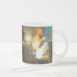 Wonderland Frosted Glass Coffee Mug