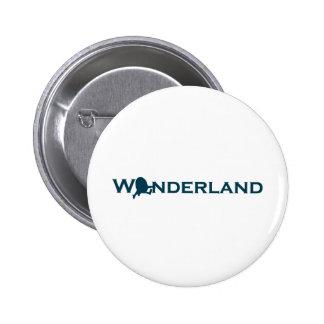 Wonderland Humpty Dumpty Button