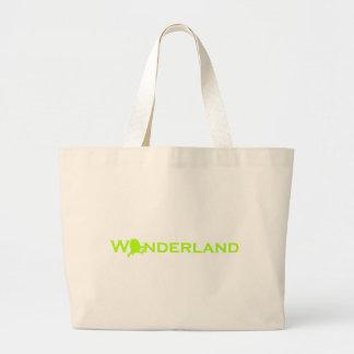 Wonderland Humpty Dumpty Large Tote Bag