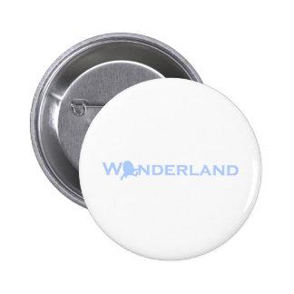 Wonderland Humpty Dumpty Pinback Button
