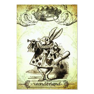 WoNDeRLaND Personalized Invitation