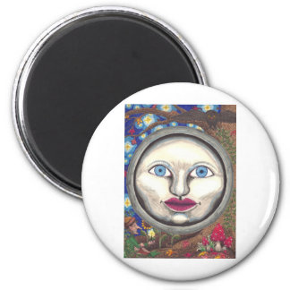 Wonderland Moon Magnet