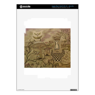 Wonderland Pieces Skin For iPad 3