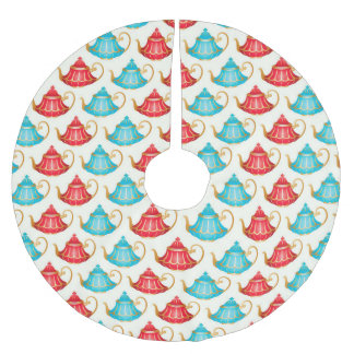 Wonderland Prints Brushed Polyester Tree Skirt