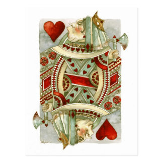 Wonderland Queen of Hearts Postcard