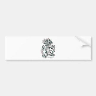 Wonderland Roses Bumper Sticker