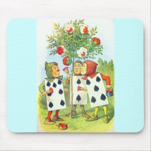 Wonderland Roses Mouse Pad