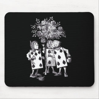 Wonderland Roses Mouse Pad