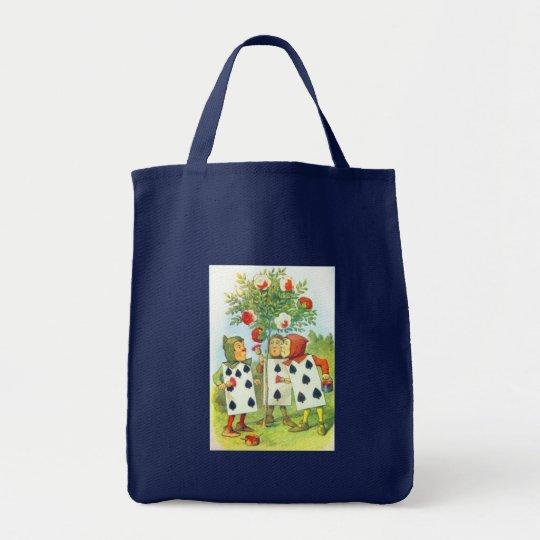 Wonderland Roses Tote Bag