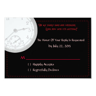 Wonderland RSVP 3.5x5 Paper Invitation Card