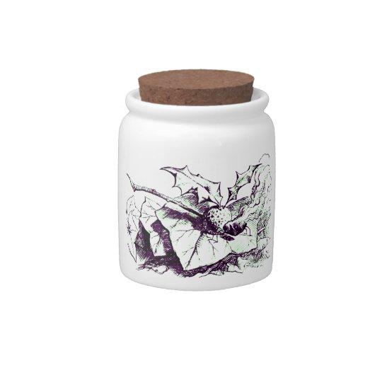 Wonderland Snap Dragonfly Candy Jar