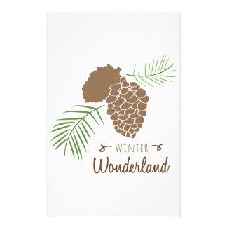 Wonderland Custom Stationery