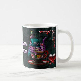 Wonderland TCD Basic White Mug