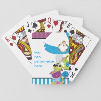 Wonderland Tea Cups Playing Cards