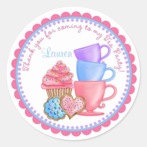 Wonderland Tea Party Stickers