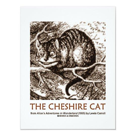 Wonderland The Cheshire Cat Card