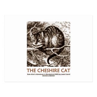 Wonderland The Cheshire Cat Postcards