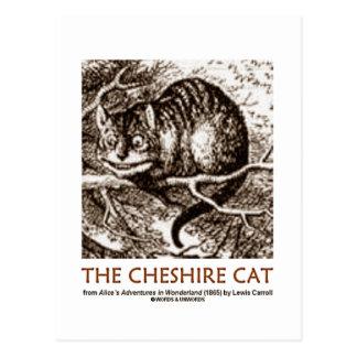 Wonderland The Cheshire Cat Post Cards