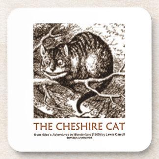 Wonderland The Cheshire Cat (Whimsical) Beverage Coaster